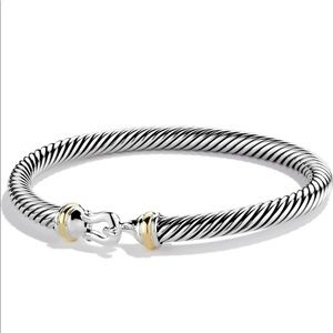 David Yurman Cable Classic Buckle Bracelet Large